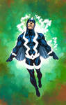 Black Bolt color commission v2
