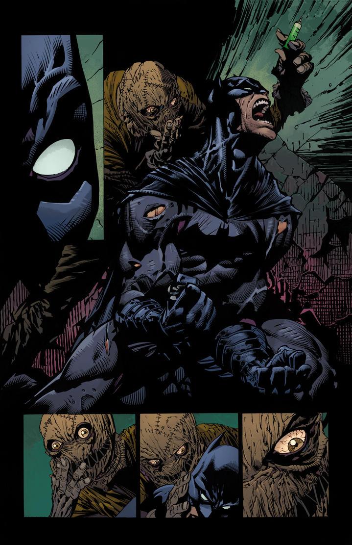Batman Dark Knight Scarecrow Finch And Friend by ...