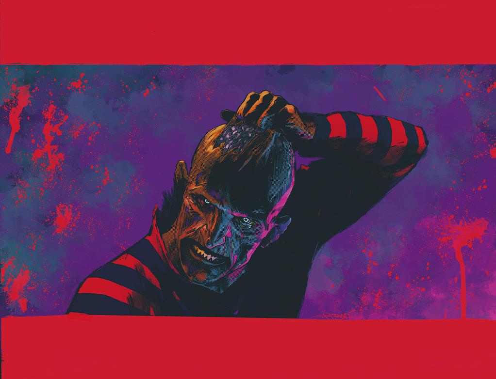 Freddy vs Dibari by SpicerColor