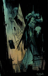 Murphy Batman colored for fun by SpicerColor