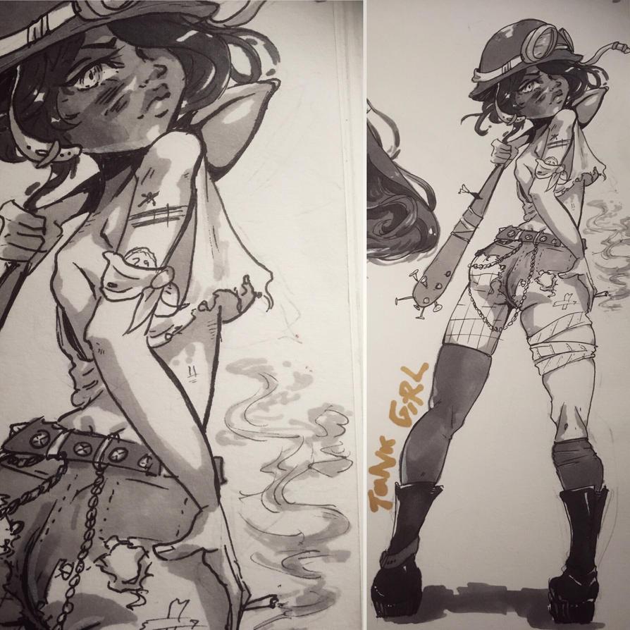 Tank Girl by unuvu