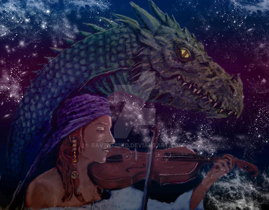 Listening (Alternate Coloring) by Rav3nf13nd