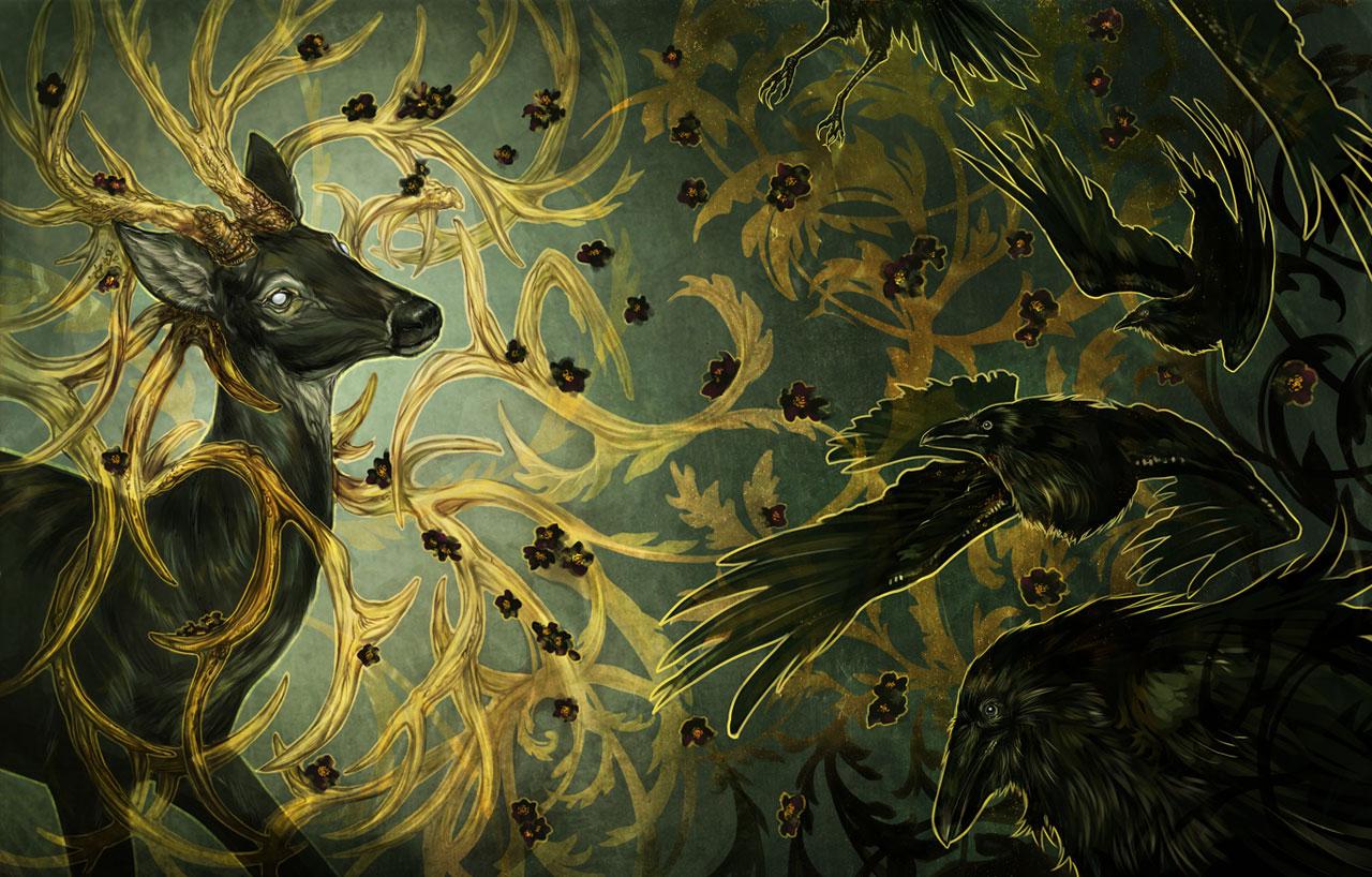 Deer Grove by avodkabottle