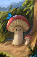 Mushroom! by scribley