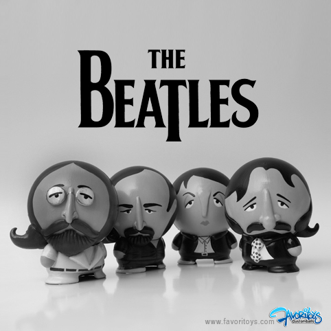 THE BEATLES en Blanco y Negro. by LvisCoutinho