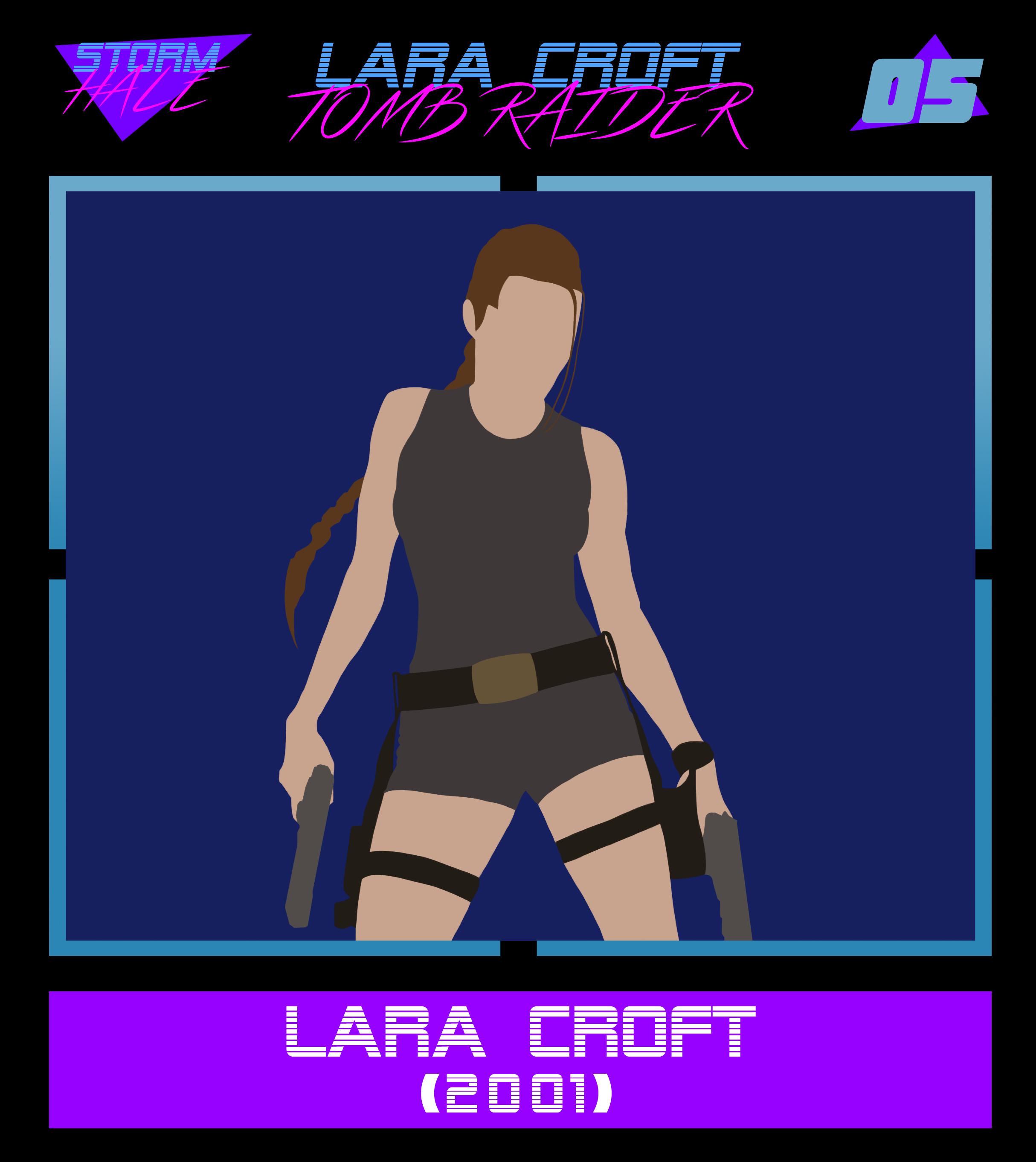 Lara Croft Tomb Raider 2001 By Stormhale On Deviantart