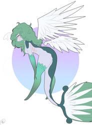Aquafina(A flying fish furry)**MINE** by Tia-Moon78