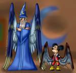 Mickey and Yensid