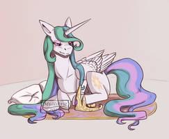 Resting Queen by Midlstrit
