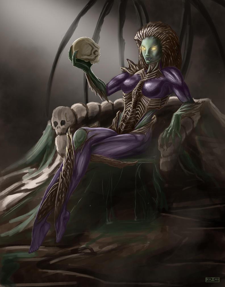 Queen of Blades_1 by Phil-Sanchez