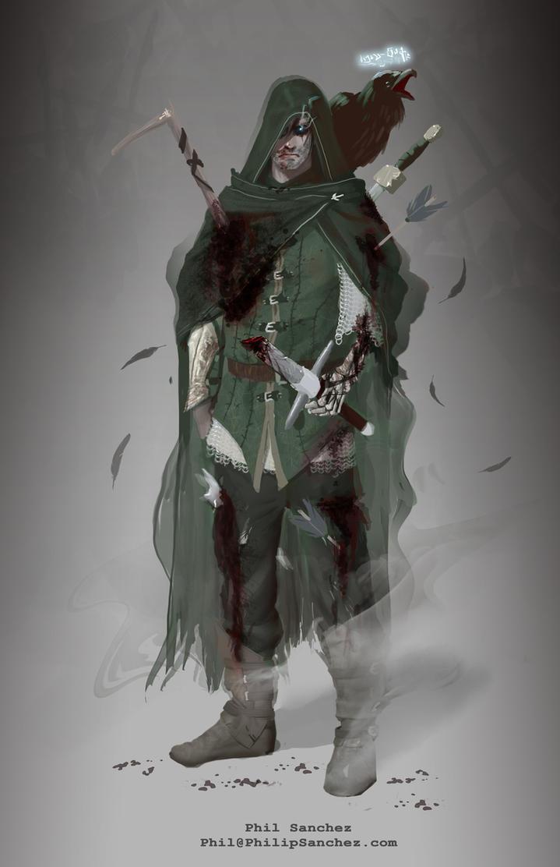 Shadow Walker by Phil-Sanchez