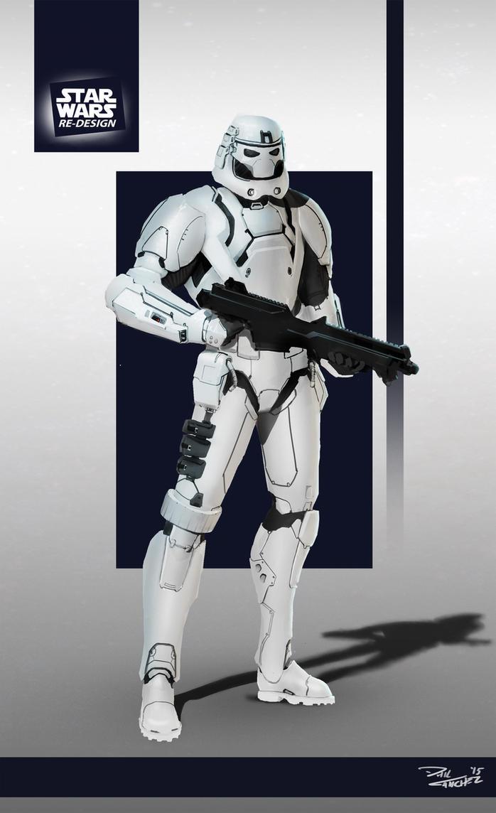 Star Wars ReDesign: Stormtrooper by Phil-Sanchez