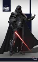 Star Wars ReDesign: Darth Vader by Phil-Sanchez
