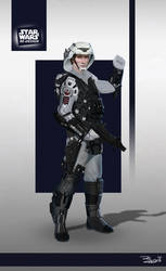 Star Wars ReDesign: Rebel Trooper