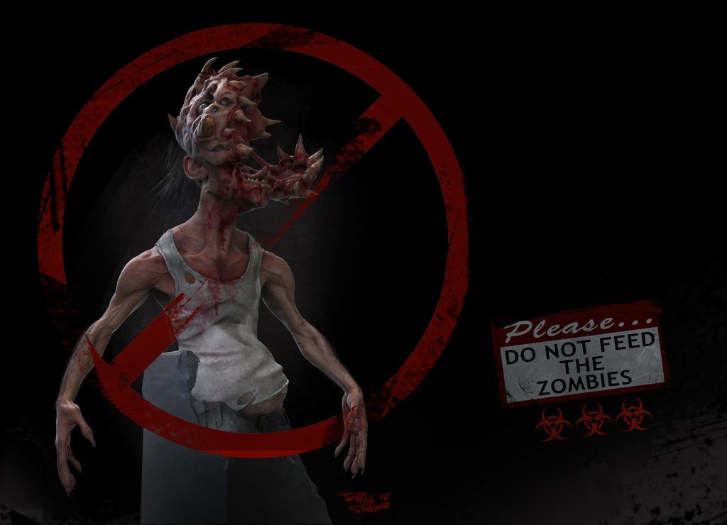 Head Zombie by Phil-Sanchez