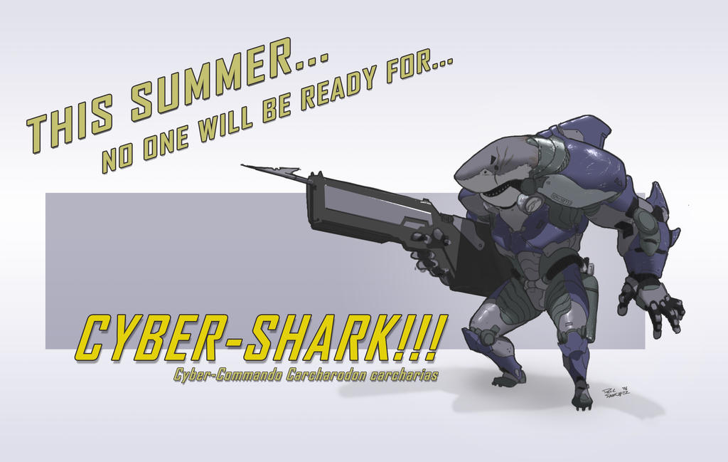 Cyber-Shark by Phil-Sanchez