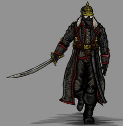 Four Horsemen of the Apocalypse: Pestilence by SalokReevil