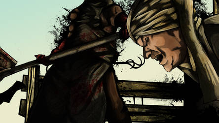 Resident Evil 5 - Execution by SalokReevil