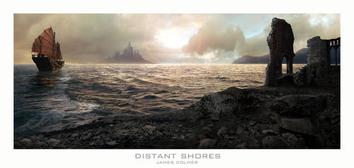 Distant Shores by JamesColmer
