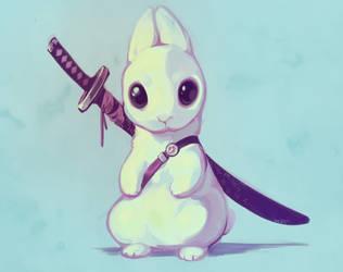 where's my samurai by Meirii