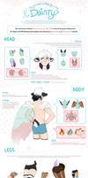Official Regular MYO Dainty Features Guide