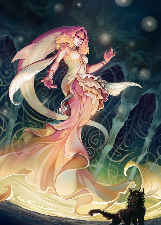 Queen Rutela by Meirii