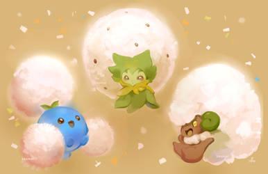 pokemon sneezes
