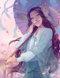 comm: Shusui smile
