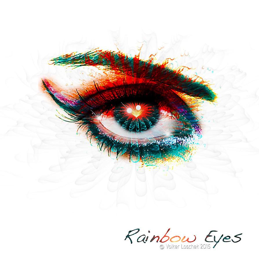 Rainbow Eyes by blindguard
