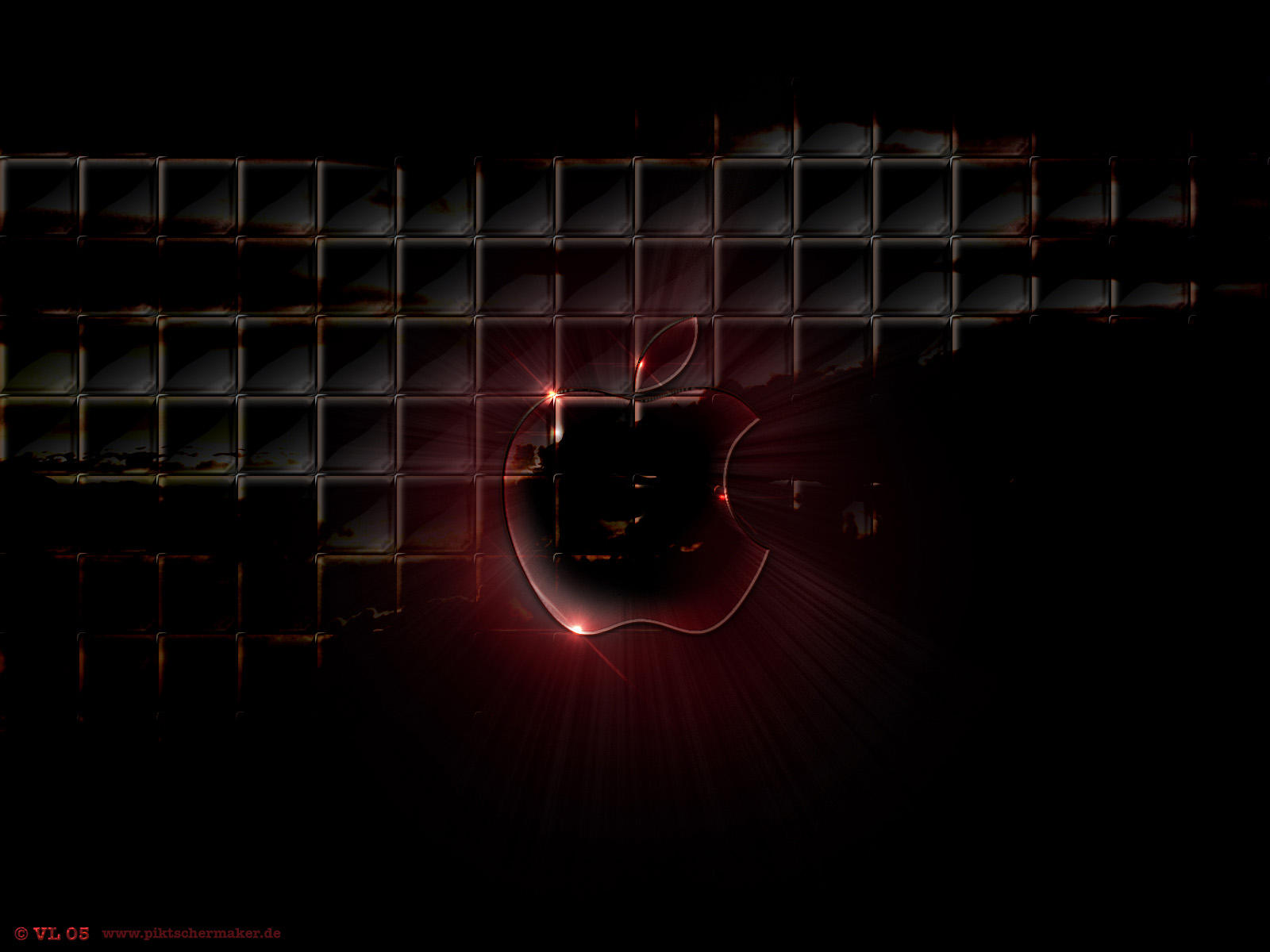 Apple in Glas by blindguard