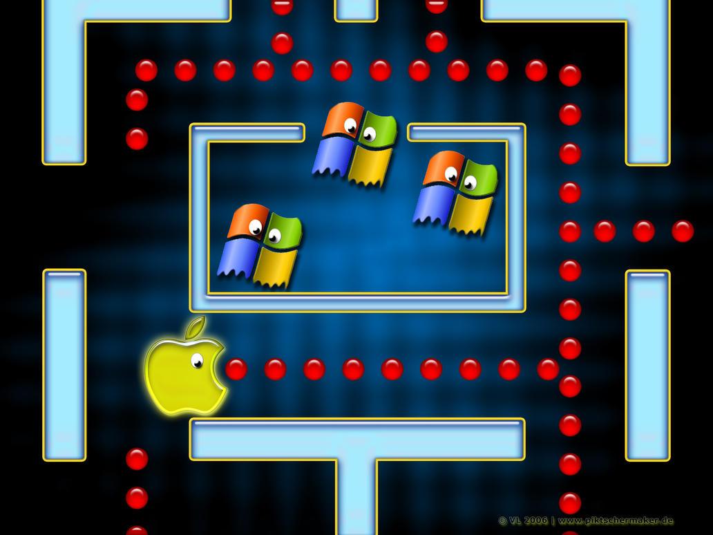 Mac-Man by blindguard