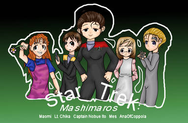 Star Trek: Mashimaros by PassionateStar