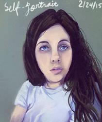 Self Portrait by PassionateStar