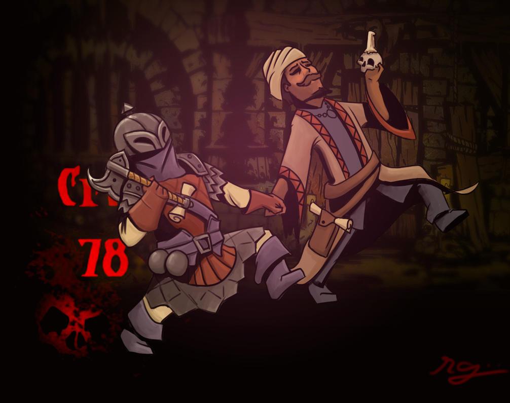 Darkest Dungeon: Best of Buddies by chaetoceros on DeviantArt
