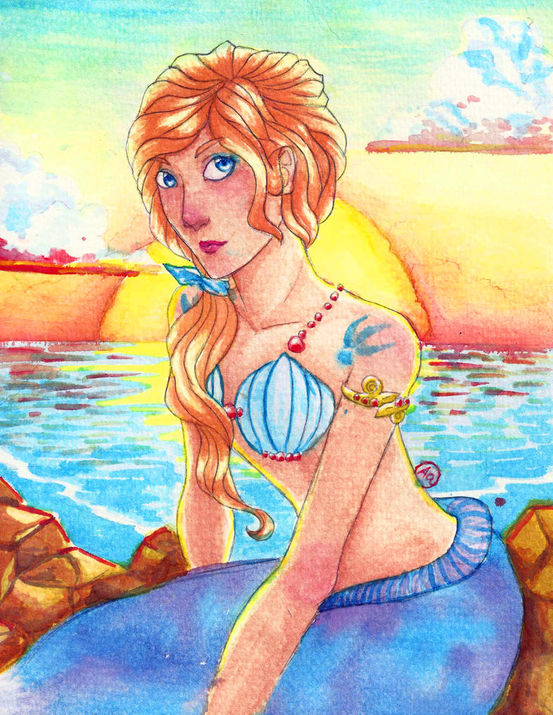 Mermaid by erethusianelf