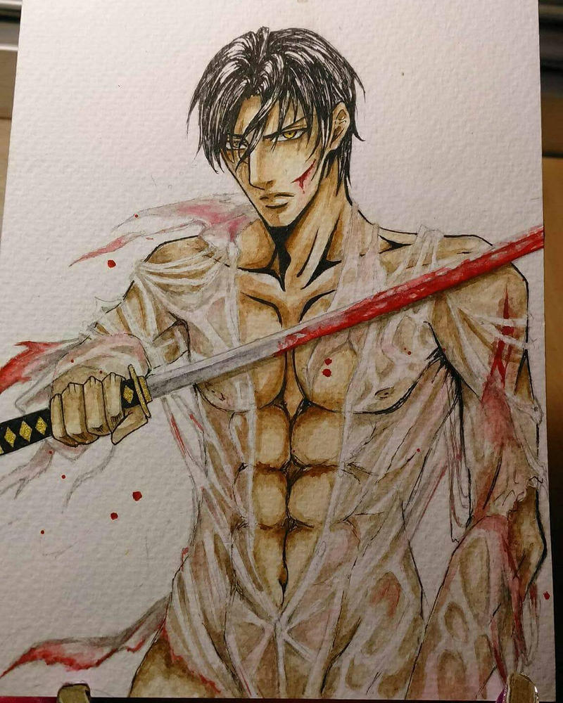 Asami Ryuichi as gladiator.  by ARS9mm