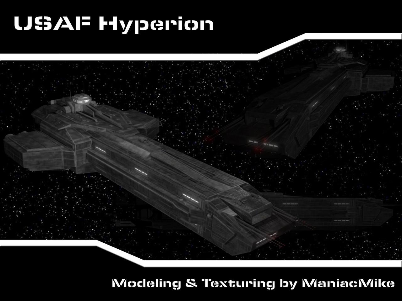 USAF Hyperion by xxxmaniacmikexxx