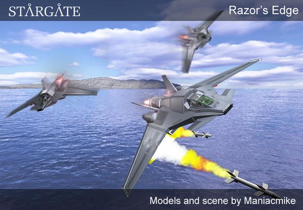 Razor's Edge by xxxmaniacmikexxx