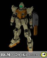 RGM - 79 G by xxxmaniacmikexxx