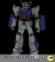 RX-78NT-1 Gundam 'Alex' by xxxmaniacmikexxx