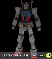 RX-78-2 Gundam by xxxmaniacmikexxx