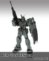 RGM-79N GM Custom by xxxmaniacmikexxx