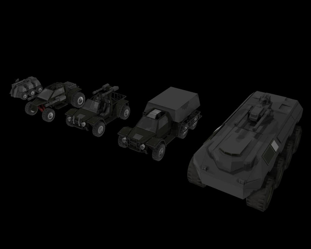 Current Fleet : Ground by xxxmaniacmikexxx