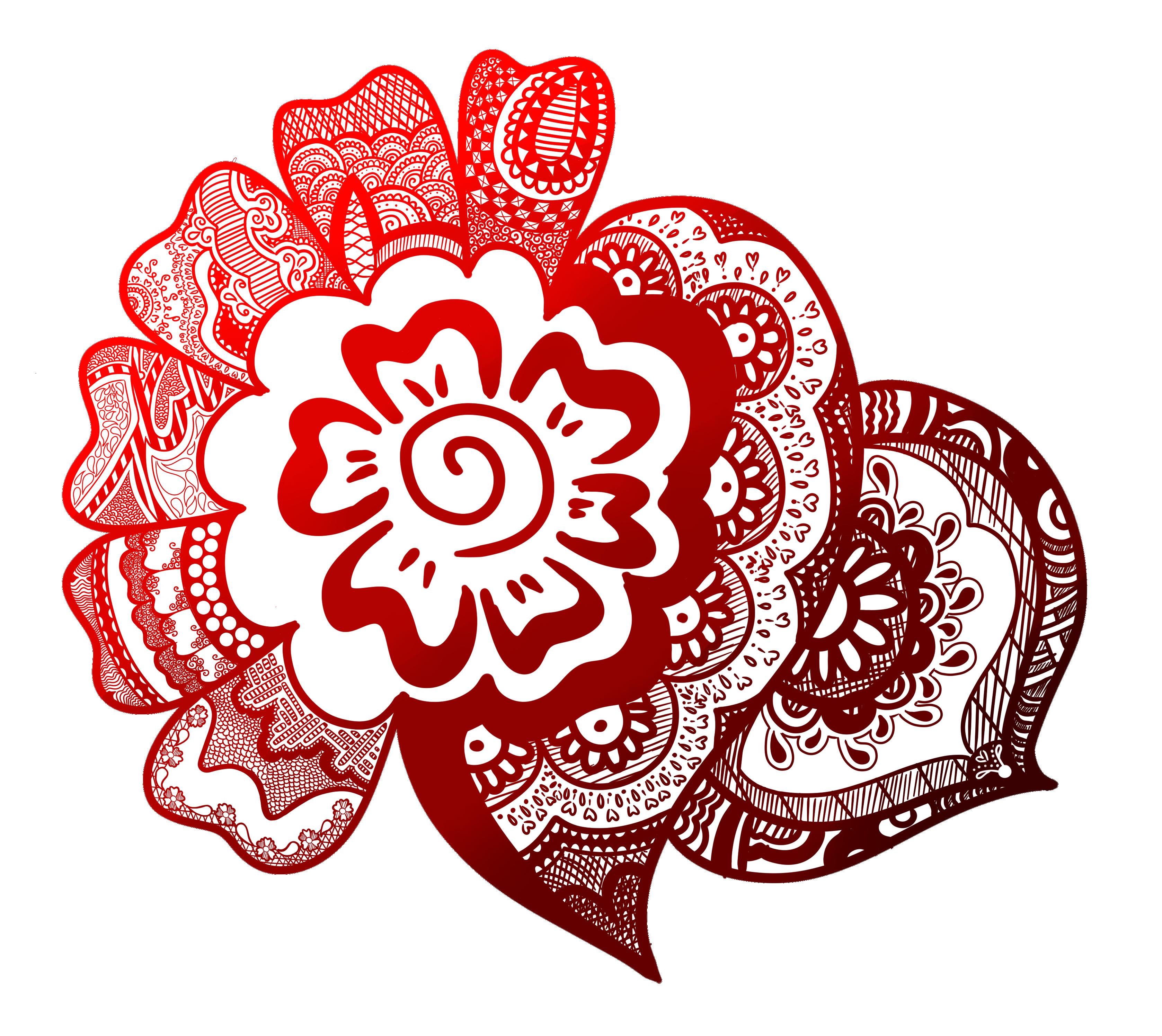 Random Mehndi Design XD by SillyArtist