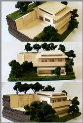 Deviated Architecture, House on a Hill