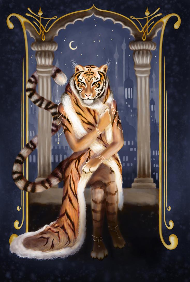Tiger Queen by MostlyTeeth