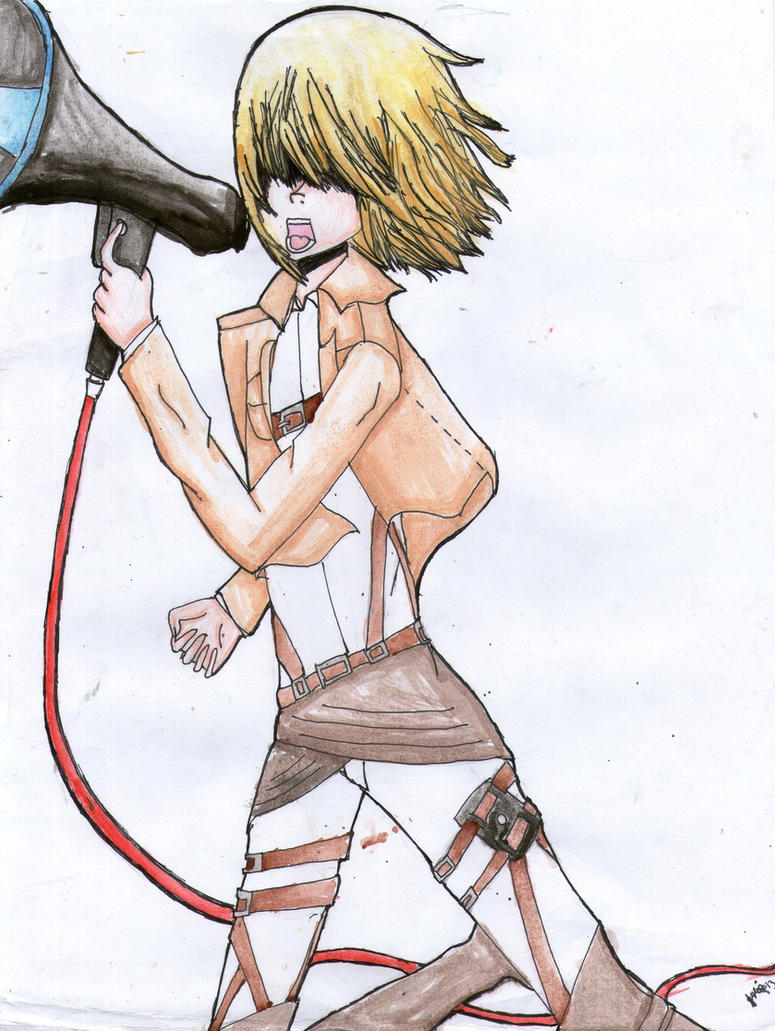 Shingeki no Kyojin: Armin Arlert [Love Is War] by percabethshipper22