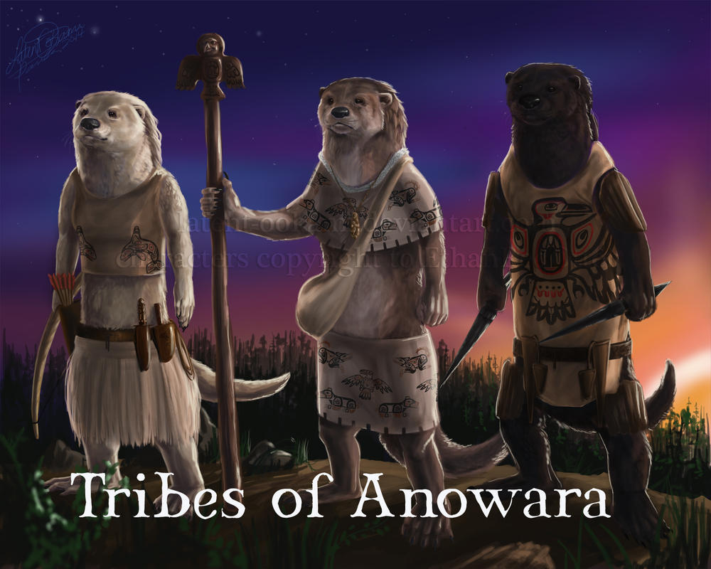 Tribes of Anowara by latent-ookami