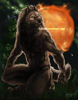 Werewolf Zodiac - Leo by latent-ookami