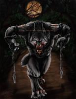 Werewolf Zodiac - Libra by latent-ookami